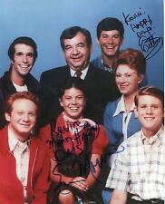 ERIN MORAN CHILD ACTRESS IN HAPPY DAYS & ANSON WILLIAMS SIGNED PHOTO AUTOGRAPH