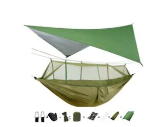 Outdoor Travel Camping Army Military Camo Parachute Jungle Mosquito Net Hammock