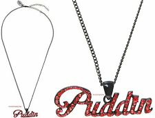 "Harley Quinn ""PUDDIN"" Bling Necklace~DC Comics~ Free Ship"