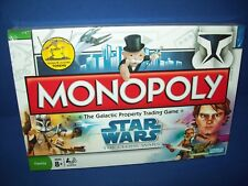 MONOPOLY STAR WARS Clone Wars Edition Parker Brothers NIB NEW Sealed 2008