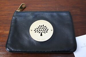 Mulberry Daria Pouch in Black/Clutch bag