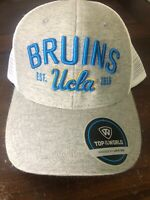 Ucla Bruins Snapback Hat Cap Ncaa New College Est 1919 Gray