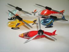 HELICOPTERS 1996 MODEL AIRPLANES SET - KINDER SURPRISE PLASTIC TOYS MINIATURES
