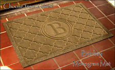 Doormat Monogram Personalized Bombay Mat Indoor-Outdoor & 2 Size Choices!