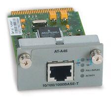 Allied Telesyn AT-A46 Gigabit Module NIB PN 990-97176-00