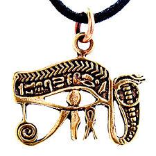 6A Auge des Horus Anhänger aus Bronze Schutz Amulett Horusauge ägyptisch magisch