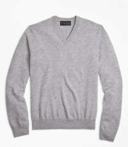 Brooks Brothers CASHMERE COLLECTION V Neck Sweater
