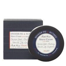 Bath House Spanish Fig &.Nutmeg Shave Cream 100g