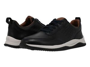 Men's Shoes Clarks PUXTON LACE Leather Lace Up Athletic Sneakers 57829 NAVY