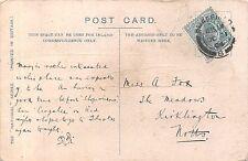 Miss A Fox. The Meadows, Kirklington, St Swittines, Nottinghamshire 1904  RJ.270