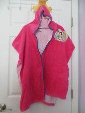 Disney Girls Crown Hooded Towel Cinderella Aurora Snow White