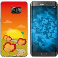 Case für Samsung Galaxy S7 Edge Silikon-Hülle Herbst Drache/Kite M2 Cover