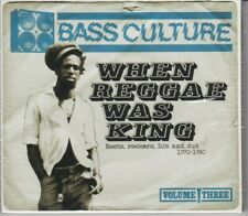 Bass Culture: When Reggae Was King by Various (2CD's, 2012, Demon Music) OOP NEW