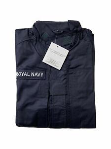 Royal Navy PCS Combat Shirt / Jacket Warm Weather FR RN Navy Blue ~ New 200/112