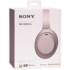 Sony WH-1000XM3 беспроводной шумоподавлением, закрывающие уши наушники серебристые