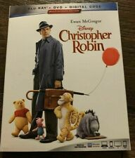 Disney Christopher Robin Blu-Ray ONLY in Slipcase winnie the pooh live action