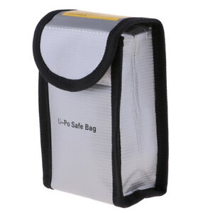 Lipo Battery Safe Bag Fire Protection Pouch for Drone RC Quadcopter