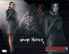 JENNIFER HALE Signed Naomi 11x14 Photo METAL GEAR SOLID Autograph JSA COA Cert