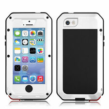HOT Waterproof Gorilla Glass Cover Case For iPhone 6S 5S 5C 4S Samaung S6 S5 S4