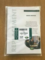 GENUINE LAND ROVER & RANGE ROVER REPLACEMENT SERVICE BOOK LRL0178ENG DISCOVERY