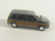 Woody Plymouth Voyager Van   - Busch  HO Modell 1:87 - 44624 #E