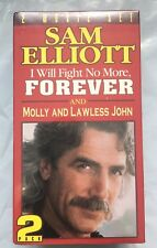 I WILL FIGHT NO MORE FOREVER & MOLLY AND LAWLESS JOHN, VHS BOX SET. SAM ELLIOTT