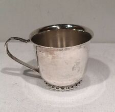 Silverplate Baby Cup By Leonard Hong Kong