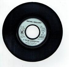 """Michel MALLORY Vinyle 45T 7"""" LE COW-BOY D'AUBERVILLIERS J Hallyday 6061307 RARE"""