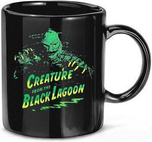 Universal Monsters #Creature from The Black Lagoon Green & Yellow Coffee Mug