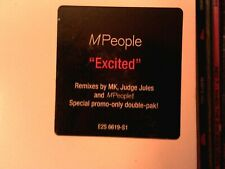 "M PEOPLE (MPEOPLE) Excited 2 x 12"" single set...9 version double set Exc. Copy!"