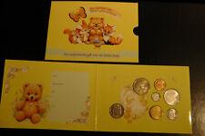 Niederlande 2001 Kursmünzensatz Baby-Satz Coinset Gulden mit Medaille