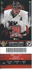 QMJHL Ticket - Quebec Remparts 20th Anniversary MARTIN MOISE #25