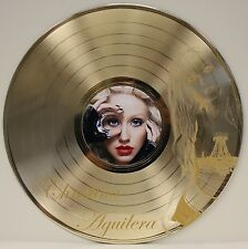 Christina Aguilera Laser Etched Image Lp Record Wall Art Display