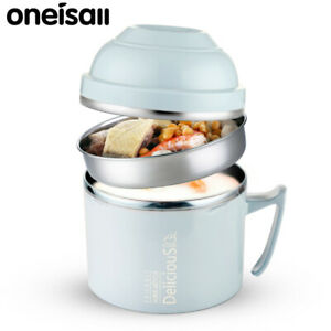 Thermos Food Jar Noodle Container Thermal Insulation Lunch Box Stainless Steel