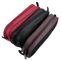 Laptop Mouse Charger USB Cable Cords Zippered Organizer Storage Bag Case Pouch