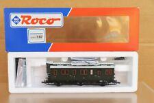 ROCO 45412 P.St.E.V. 4th CLASS 6 WHEEL LOCAL COACH MINT BOXED ns