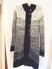 CKM ladies longline knit cardigan sized M but a small M check measurements