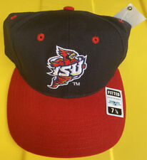NWT Vintage Iowa State Cyclones Top Of The World 100% Wool Hat Cap Size 7 1/8