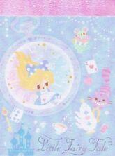 100 Hojas japonés Lindo Pastel Alicia en el país de las Maravillas Kawaii Memo Pad Nota Qlia
