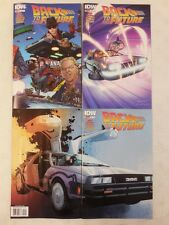 3x BACK TO THE FUTURE # 2 Comic VARIANT Reg A & B Cover ~1st PRINT ~ IDW UNREAD