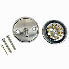 Danco 89242 Trip Lever Tub/Bath Drain and Overflow Trim Kit/Plate in Brushed Nic