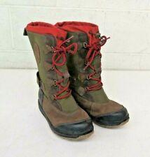 Timberland Holderness Tall Waterproof Winter Boots Us Girls 4.5 Eu 37 Excellent