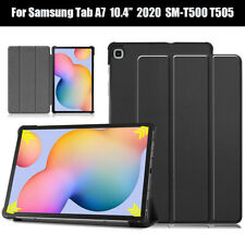 """For Samsung Galaxy Tab A7 10.4"""" 2020 T500 T505 Tablet Stand Leather Case Cover"""