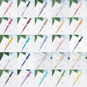 1Pc Crystal Ballpoint Diamond Pens Rainbow Color Office Student Stationery Gifts