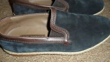 Dolce & Gabbana Mondello Slip on espadrille suede shoes/loafers size UK 7