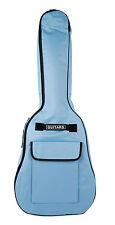 Blue Electric Guitar Case Gigbag For Fender Rockburn Encore Jaxville Stagg Lindo