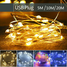 USB LED String Light Fairy String for Wedding Christmas Party Holiday Decoration