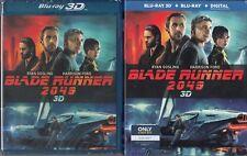 BLADE RUNNER 2049 ryan *3D + BLU-RAY BEST BUY EXCLUSIVE* Gosling NEW + SLIPCOVER