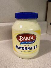 Bama Rich And Creamy  Real Mayonnaise 30 oz