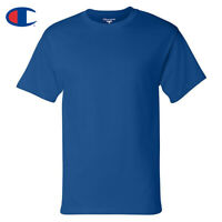 Champion Men's T425 Basic Short Sleeve Cotton Crew Neck T Shirt